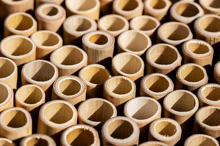 Badabambou: paille en Bambou de grade A.
