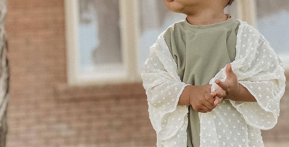 Kids Cream Kimono
