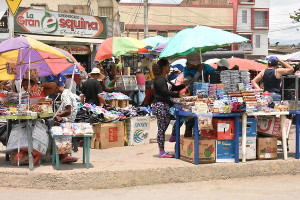 Market in La Parada