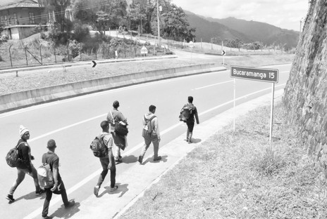 Sign, Walk to Bogota
