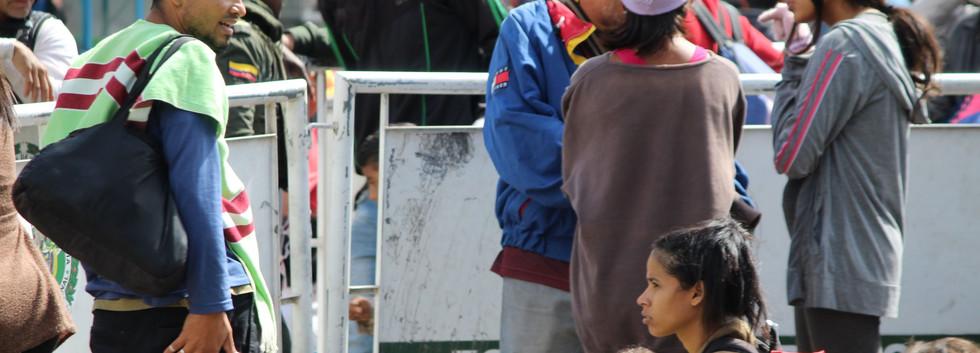 Young Venezuelan Family