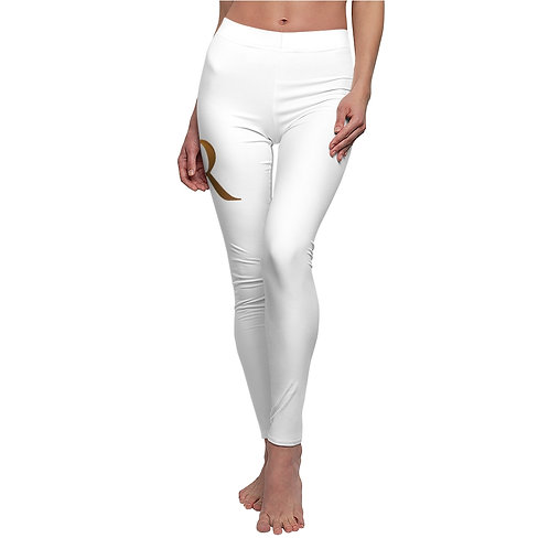 Women's Cut & Sew Casual Leggings W/Logo