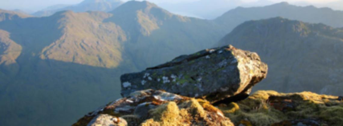Landscape view of Scotland