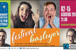 16. Kadıköy Belediyesi Tiyatro Festivali Başlıyor