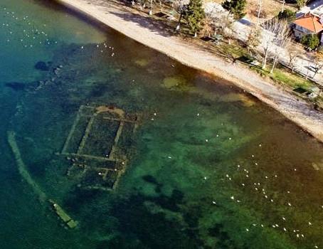 İznik Gölünde Saklanan Bazilika