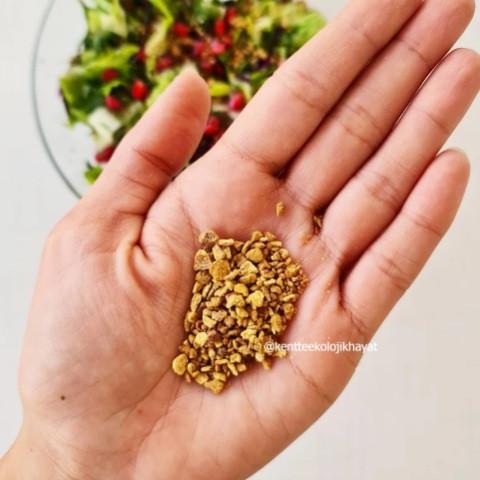 Süper gıda: nar kabuğu tozu