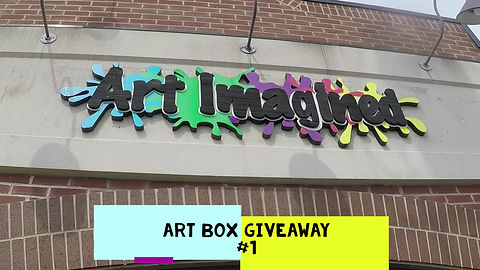 Check out this week's ART challenge.  Watch the video from start to finish and see what your challenge is this week, then get to work creating!  You could win your very own CREATIVITY stocked ART BOX!