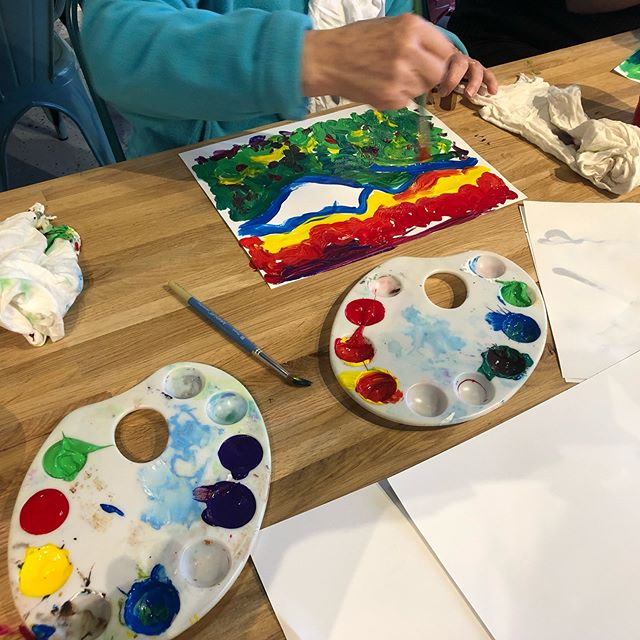 Andre Derain and Fauvism inspired class