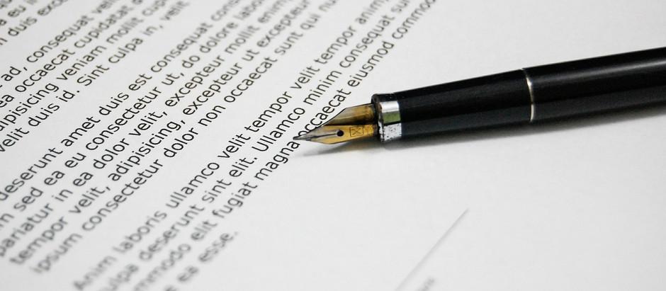 Potřebujete sepsat smlouvu?