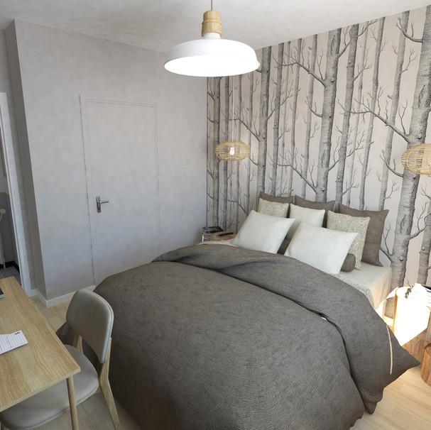 Chambre n°1 - bois