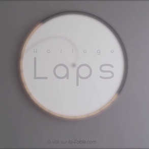vidéo horloge Laps