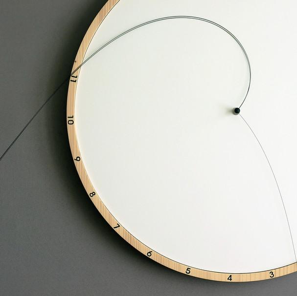 horloge Laps (détail)