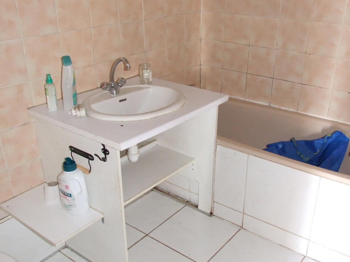existant - salle de bain