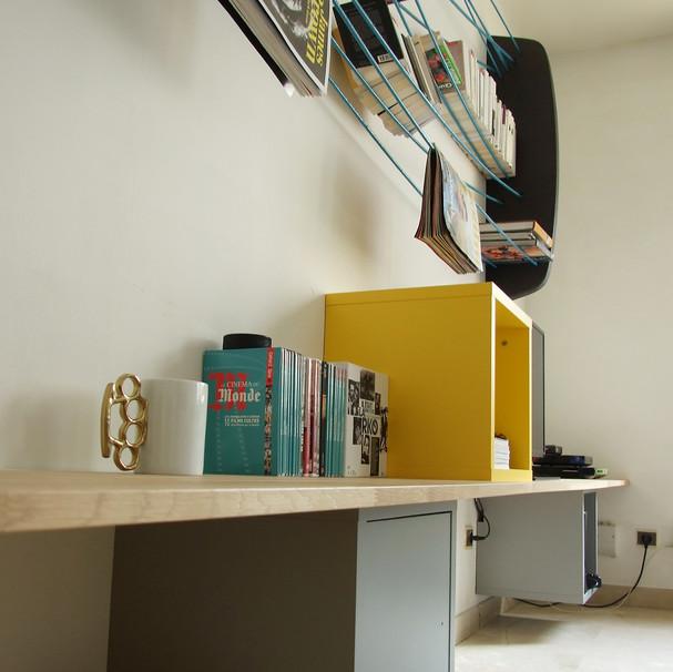 meuble tv / bibliothèque