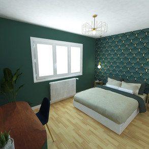 Chambre n°2 - feuille