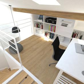 mezzanine - bureau