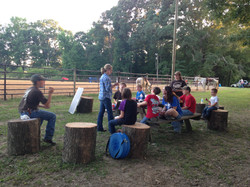 Youth Rodeo practice bible study
