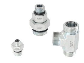 O-Ring Face Seal Connectors (ORFS) - ISO 8434-3 - (Equivalent to Parker)