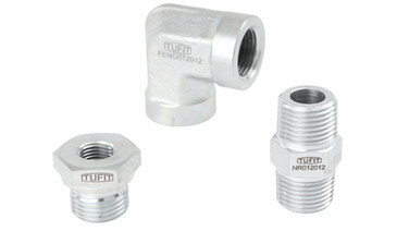Precision Pipe Fittings & Port Adaptors  - ANSI B16.11 - (Equivalent to Parker)