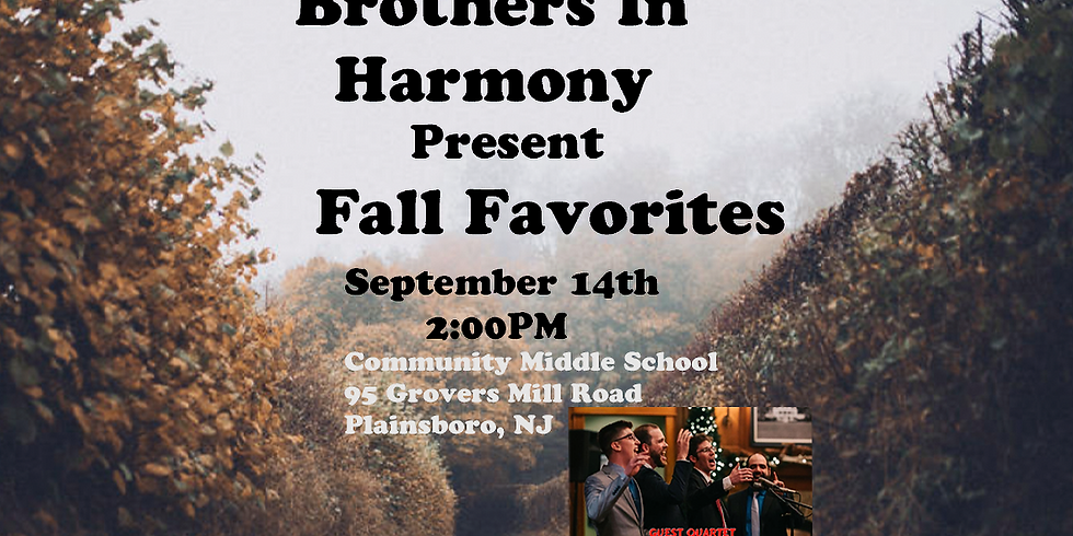 Brothers in Harmony 2019 Annual Show