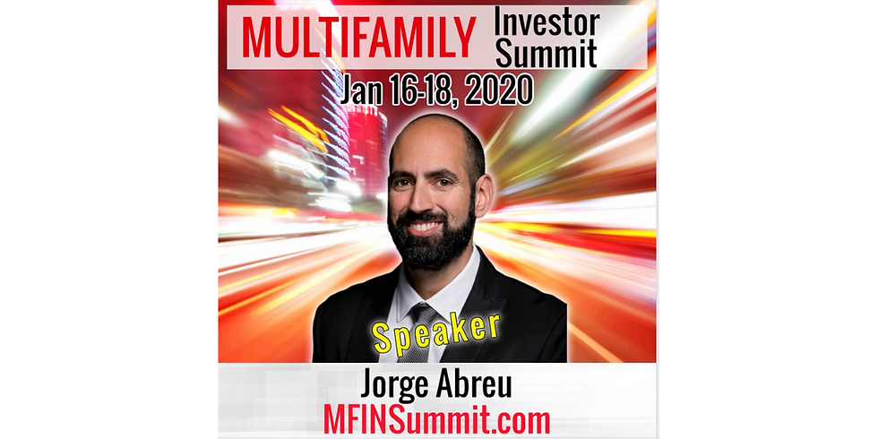 Multifamily Investor Summit Virtual Event - Use code 'ELEVATE' at checkout!