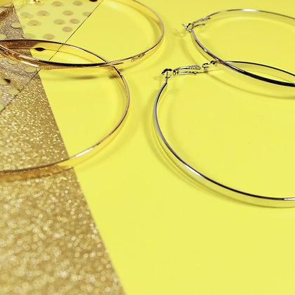 Round Shape Hoop Earrings