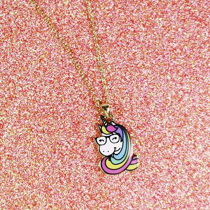 Unicorn GlassesNecklace