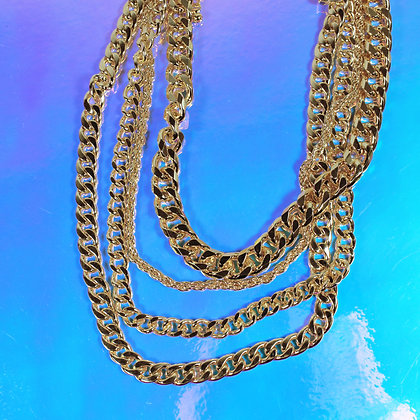 Chunky Chain Layered Necklace