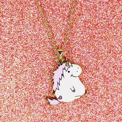 Lazy Unicorn Necklace