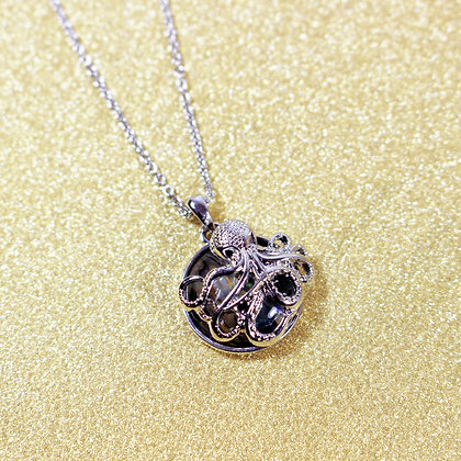 Octopus Abalone Necklace