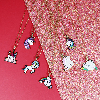 Unicorn Barf Necklace