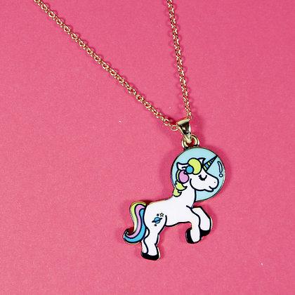 Travel Unicorn Necklace