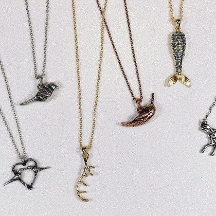 Deer Horn Necklace