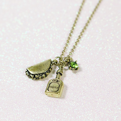 Taco & Tequila Necklace
