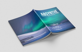 Absynthe Magazine's Cover from the Nov 2018 Issue.  Read full magazine at: