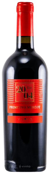 Vinosia Est. 2004 Primitivo Merlot IGT