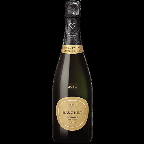 Champagne Bauchet Cuvée Mémoire Millésime 2012 75cl