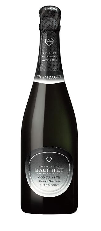 """Champagne Bauchet Contraste """" Blanc de Noir"""" Extra Brut 75cl"""