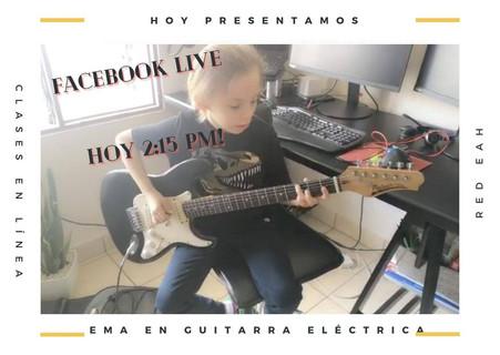 Clases de guitarra eléctrica, todas las edades