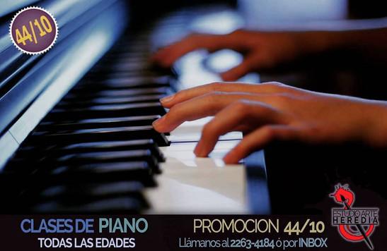 Clases de Piano - todas las edades