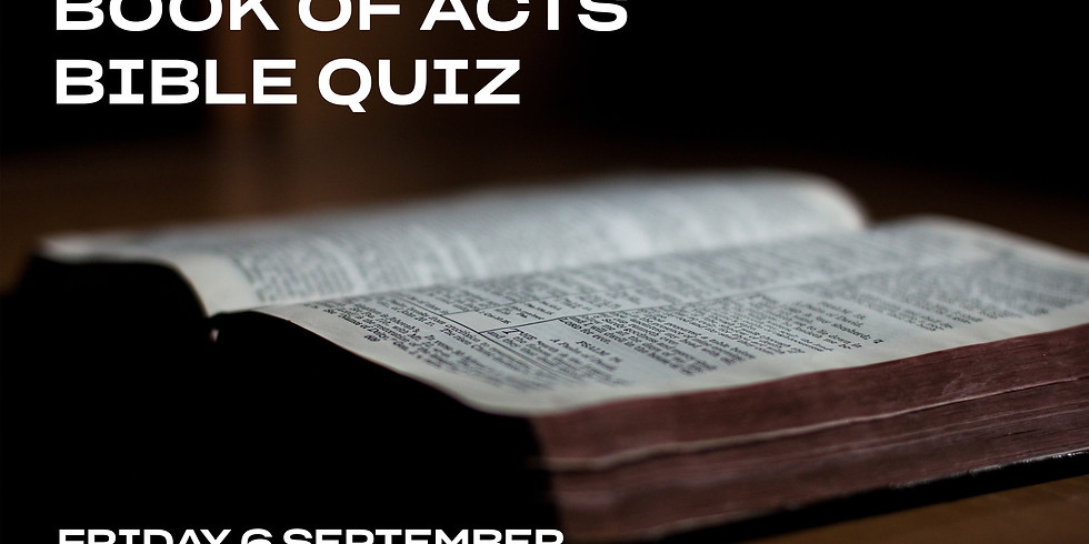 Bible Quiz: Book of Acts