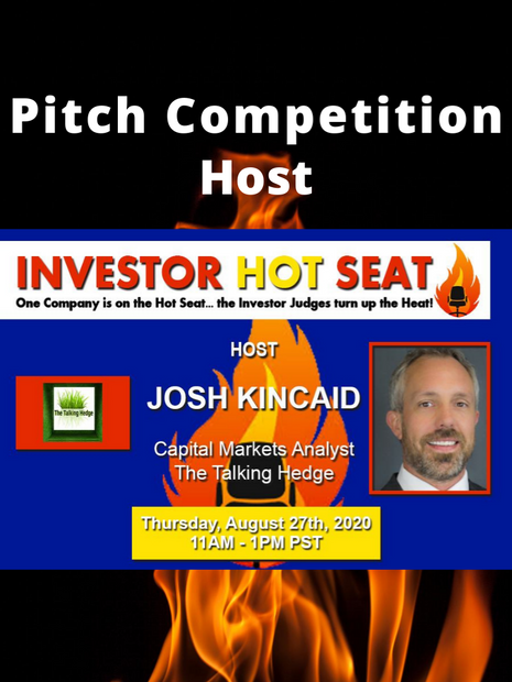Pitch Competition Host