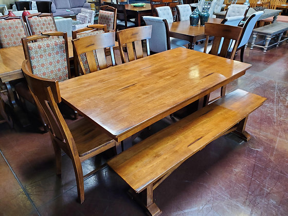 Dining Table W/4 Chairs And Bench - Scottsdale - Airpark