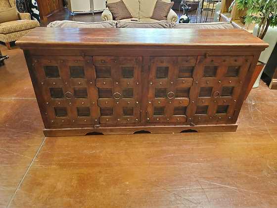 Large Rustic TV Console - Scottsdale