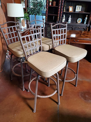 Set Of 4 Patio Barstools - Scottsdale