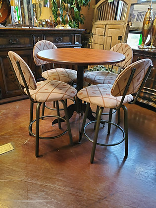 Pub Table W/4 Swivel Chairs - Scottsdale