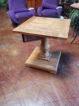 Rustic Wood End Table - Scottsdale