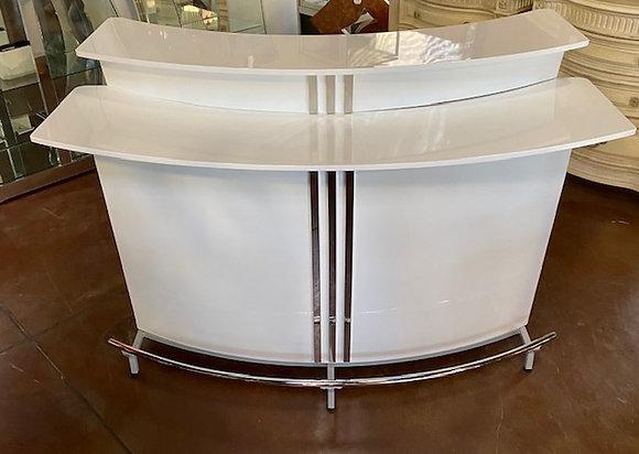 White High Gloss Bar