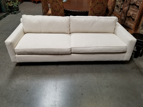 Here We Have A Beautiful Mitchell Gold Down Sofa! Original Purchase Price  $2800...Our Price Only $799.99!