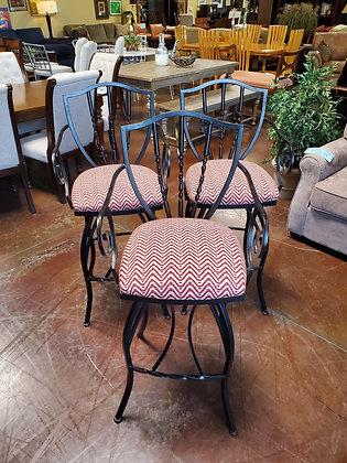 Set Of 3 Barstools - Scottsdale